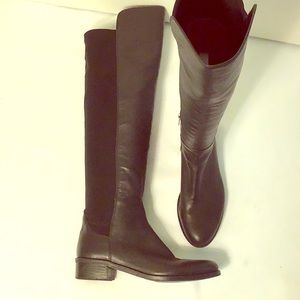 Vince Camuto Jevina Stretch Back Riding Boot 6B